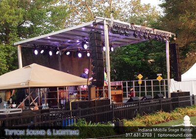 Indiana Mobile Stage Rental Indianapolis Mobile Stages Outdoor Festival Stage Rental
