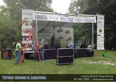 Indiana Mobile Stage Rental Outdoor Festival Stages Indianapolis Mobile Stage