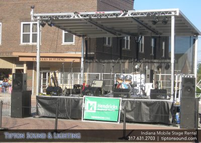 Indiana Mobile Stage Rental Outdoor Stages Indianapolis